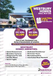 Residential Land Land for sale Westbury Homes  inside Beechwood estate  Bogije Sangotedo Lagos