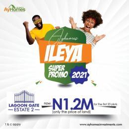 Residential Land Land for sale Lagoon estate siriwon close to lekki free trade zone Ibeju-Lekki Lagos