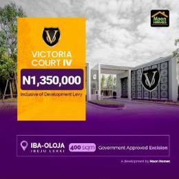 Residential Land Land for sale Victoria Court Iba oloja, Ibeju Lekki, Lagos Free Trade Zone Ibeju-Lekki Lagos