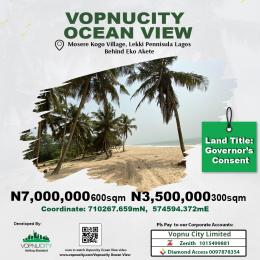 Mixed   Use Land for sale Vopnu Ocean View, Mosere Kogo Village, Lekki Penisulla Behind Eko Akete, Lagos. Peninsula Estate Ajah Lagos