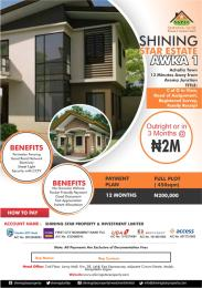 Residential Land for sale Shinning Star Estate Awka South Anambra