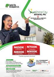Residential Land for sale Sunshine City Estate, Ipo Port Harcourt Rivers