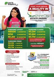 Residential Land for sale Sunshine City Estate Owerri Imo