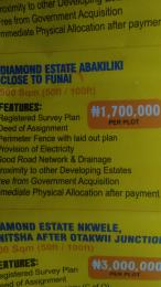 Mixed   Use Land Land for sale diamond estate Funai Abakaliki Ebonyi