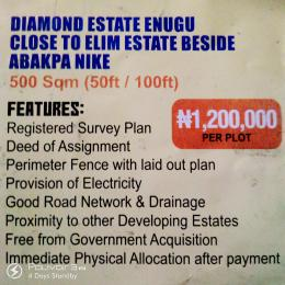 Serviced Residential Land Land for sale Behind Abapka Nike Close to Elim Estate  Enugu Enugu