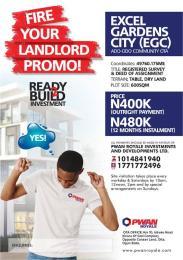 Mixed   Use Land Land for sale Land for Sale in Excel Garden City Ada Odo Ota Abebi/Okesuna Ado Odo/Ota Ogun
