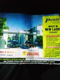 Residential Land Land for sale Inside the Hopeville Estate, Sangotedo Ajah, Lekki  Sangotedo Ajah Lagos