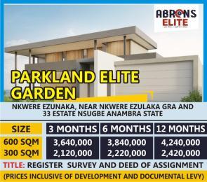 Mixed   Use Land for sale Parkland Elite Garden Nkwelle Ezunaka Anambra Anambra
