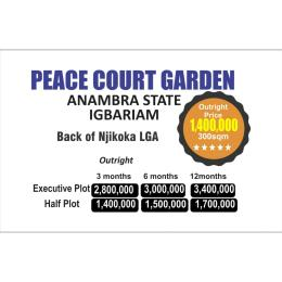 Residential Land Land for sale Igbariam, At The Back Of Njikoka Local Govt Njikoka Anambra