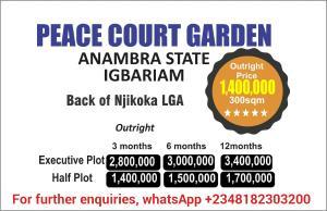 Residential Land Land for sale Back Of Njikoka Njikoka Anambra
