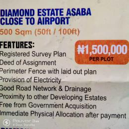 Serviced Residential Land Land for sale Close to Asaba Airport  Asaba Delta