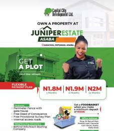 Mixed   Use Land Land for sale  Juniper estate Okpanam Asaba  Asaba Delta