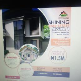 Mixed   Use Land Land for sale Shinning Star Estate, 13 Munites Away From Aroma Junction  Anambra Anambra