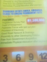 Mixed   Use Land Land for sale Diamond Estate   Awka  Awka South Anambra