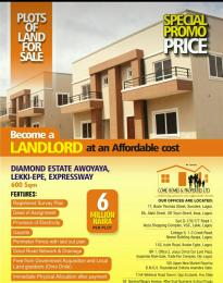 Mixed   Use Land Land for sale Off Lekki Epe Expressway Awoyaya Ajah Lagos