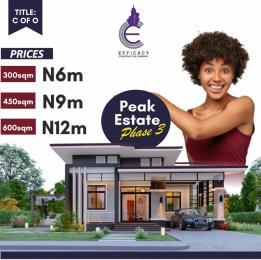 Residential Land Land for sale Peak Homes Awoyaya Ajah Lagos