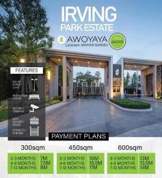 Residential Land Land for sale Oribawa bustop awoyaya , 2min from Mayfair gardens  Sangotedo Ajah Lagos