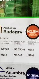Residential Land Land for sale Aradagun, Badagry Main Town Aradagun Badagry Lagos