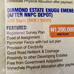 Serviced Residential Land Land for sale Emene After NNPC Depot  Aninri Enugu