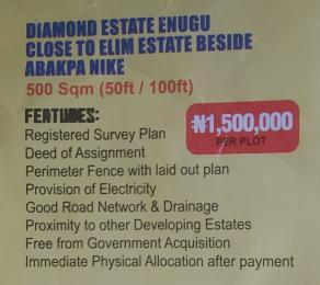 Mixed   Use Land Land for sale Diamond estate Enugu,close to Elim estate beside,Abakpa Nike  Enugu Enugu