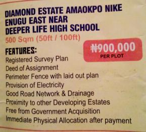 Mixed   Use Land Land for sale Amanokpo nike Enugu Enugu