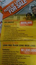 Residential Land Land for sale diamond estate epe (imoku) Lagos Epe Road Epe Lagos