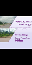 Factory Commercial Property for sale Bank Estate Along Epe Expressway Epe Road Epe Lagos