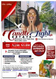 Residential Land Land for sale Candle Light Estate Orinyanrin Free Trade Zone Ibeju-Lekki Lagos