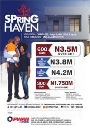 Serviced Residential Land Land for sale Okun ise Ibeju Lekki Ise town Ibeju-Lekki Lagos