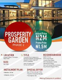 Land for sale Eleranigbe Ibeju-Lekki Lagos