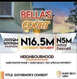Mixed   Use Land for sale Before Amen Etate, Eleko Junction, Eleko Ibeju-Lekki Lagos