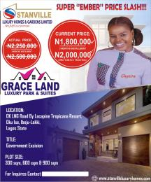 Serviced Residential Land Land for rent Okun ise. LaCampaigne Tropicana Ibeju-Lekki Lagos