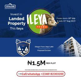 Residential Land Land for sale Commercial and residential plots are available at affordable price Orimedu Ibeju-Lekki Lagos