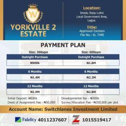 Serviced Residential Land Land for sale Imedu, ibeju Lekki close to Dangote refinery  Orimedu Ibeju-Lekki Lagos