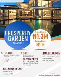 Residential Land for sale Oribanwa Ibeju-Lekki Lagos