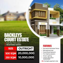 Serviced Residential Land Land for sale Backleys Court Estate by Ipaja Boys Town, Baruwa  Boys Town Ipaja Lagos