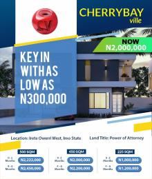 Residential Land Land for sale Cherry Bay ville Owerri Imo