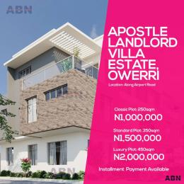 Residential Land Land for sale Along Airport Road  Owerri Imo