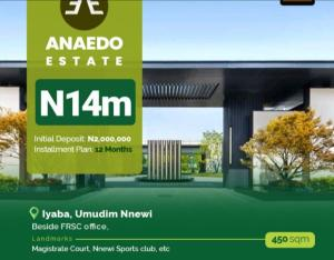 Land for sale Iyaba Umudim Nnewi beside FRSC Nnewi North Anambra