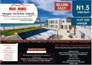 Mixed   Use Land Land for sale Majo Ocean view Estate Ebute imedu village Eleko Ibeju-Lekki Lagos