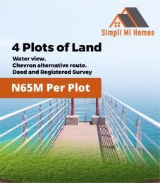 Mixed   Use Land Land for sale Water View Chevron Alternative Route chevron Lekki Lagos