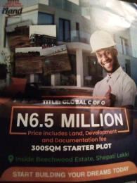 Mixed   Use Land Land for sale Inside Beachwood Estate, Shepati, Lekki  LBS Ajah Lagos