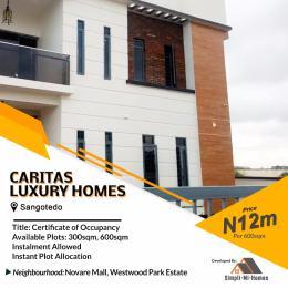 Serviced Residential Land Land for sale Off Monastery Road Behind Novare Mall Shoprite Sangotedo Sangotedo Ajah Lagos