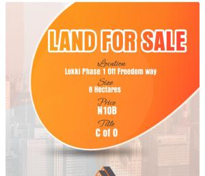 Serviced Residential Land Land for sale Lekki Phase1, Off Freedom way Lekki.  Lekki Phase 1 Lekki Lagos