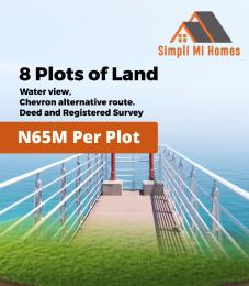 Serviced Residential Land Land for sale Chevron Alternative Route VGC Lekki Lagos