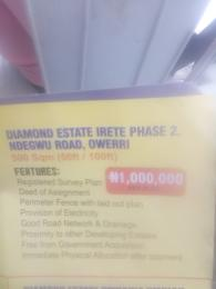Mixed   Use Land Land for sale Diamond Estate Irete phase 2 Owerri Imo