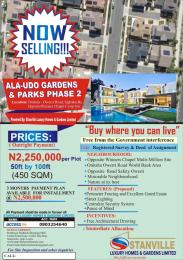 Serviced Residential Land Land for sale Onitsha Owerri Road Ogbaku Opposite Winners Chapel Camp Site Owerri Imo