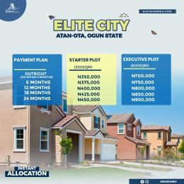 Residential Land Land for sale Elite City Estate Atan - Ota,  Sagamu Sagamu Ogun