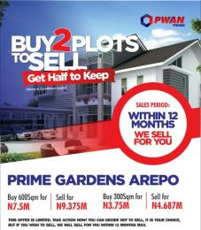 Residential Land Land for sale Along mile 12 Road, very close to Berger  Mile 12 Kosofe/Ikosi Lagos