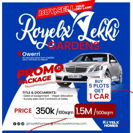Residential Land Land for sale Royelx lekki gardens owerri 20minutes drive from owerri and 1 minute to airport  Owerri Imo